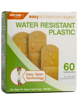 "Easy Access Bandages® Plastic 60 CT ¾"" x 3"""