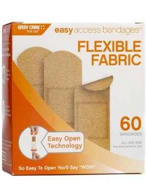 "Easy Access Bandages® Fabric 60 CT 1"" x 3"""