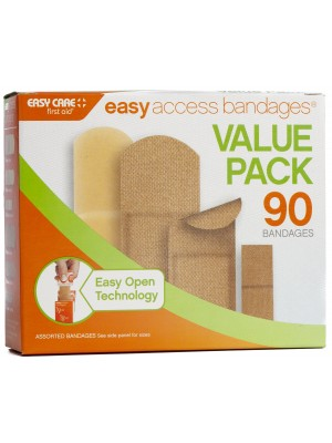 Easy Access Bandages® Value Pack, 90 Count