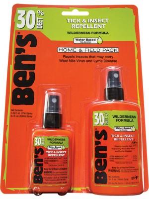 Ben's® 30 Home & Field Pack 3.4oz & 1.25oz