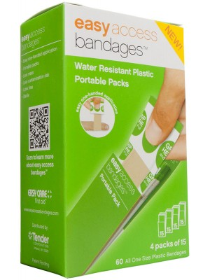 Easy Access Bandages® Plastic, 60 Count